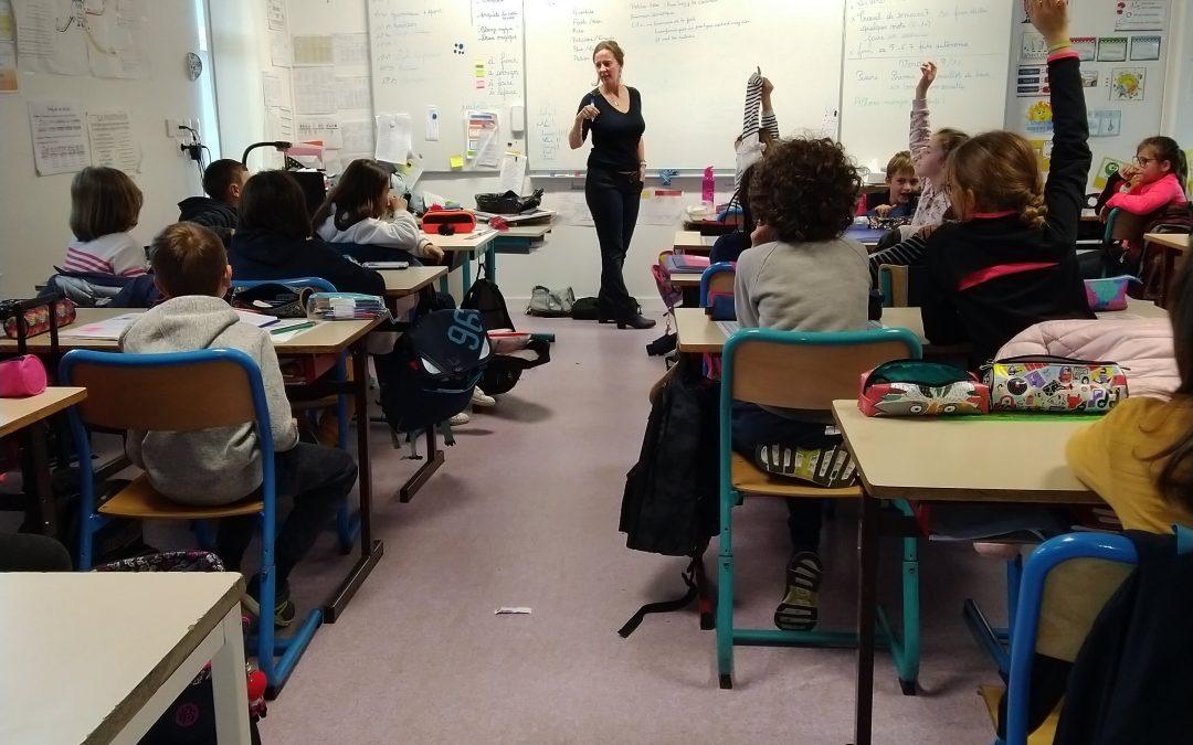 Magicien et petites bêtes à l'école de Locmaria-Grandchamp
